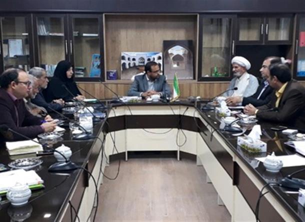 برگزاری جلسه انجمن کتابخانه های شهرستان بشرویه با حضورمعاونت سیاسی امنیتی و اجتماعی فرمانداری