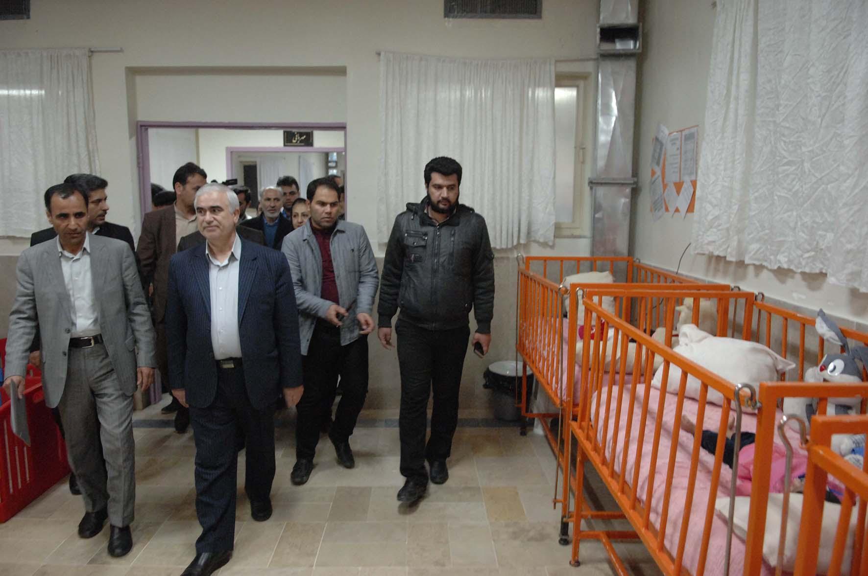 بازدید استاندار محترم از مرکز توانبخشی  حضرت علی اکبر (ع) بیرجند-27 بهمن 95